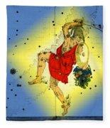 The Constellation Perseus Fleece Blanket