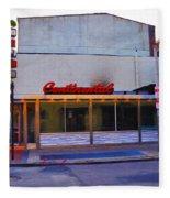 The Continental Diner Fleece Blanket