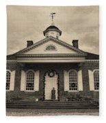 The Courthouse Fleece Blanket