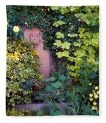 The Courtyard Garden, Fairfield Lodge Fleece Blanket