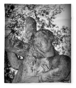 The Cross I Bear Fleece Blanket