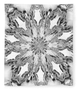 The Crystal Snow Flake Fleece Blanket