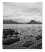 The Cuillin's In The Mist Fleece Blanket