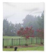 The Curious Dog Fleece Blanket