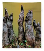 The Cypress Knees Chorus Fleece Blanket