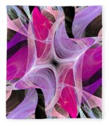 The Dancing Princesses Abstract Fleece Blanket