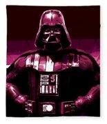the Dark Side is Strong Fleece Blanket