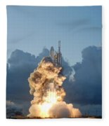 The Dawn Spacecraft Fleece Blanket