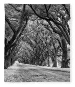 The Deep South Monochrome Fleece Blanket