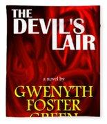 The Devil's Lair Book Cover Fleece Blanket