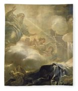 The Dream Of Solomon Fleece Blanket