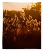 The Dunes- Fire Island Fleece Blanket