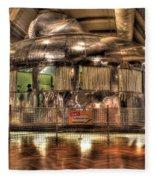 The Dymaxion House Dearborn Mi Fleece Blanket