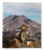 The Edge Of Glory Fleece Blanket