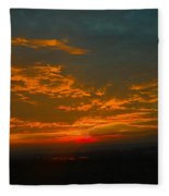 The Electric Sky  Fleece Blanket