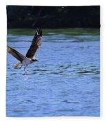The Environmentalist Osprey Fleece Blanket