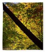 The Fall Split Fleece Blanket