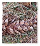 The Fallen Pine Fleece Blanket