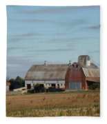 The Farm II Fleece Blanket