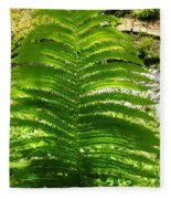 The Fern Fleece Blanket