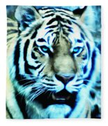The Fierce Tiger Fleece Blanket