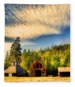 The Fintry Barns Fleece Blanket
