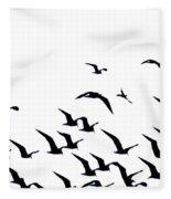 The Flock Fleece Blanket