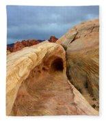 The Folded Landscape Fleece Blanket