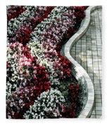 The Garden's Edge Fleece Blanket