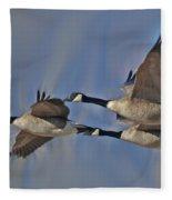 The Geese Fleece Blanket