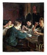 The Glass Blowers Fleece Blanket