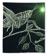 The Grasshopper Fleece Blanket