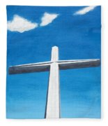 The Great Cross - Risen Fleece Blanket