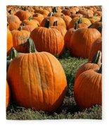 The Great Pumpkin Patch Fleece Blanket