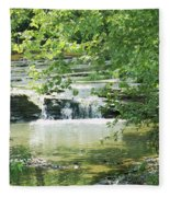 The Harpeth Brentwood Tennessee Fleece Blanket