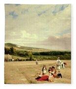 The Harvest Field Fleece Blanket