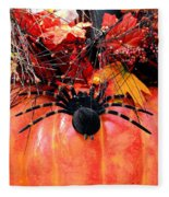 The Harvest Spider Fleece Blanket