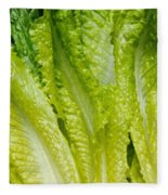 The Heart Of Romaine Fleece Blanket