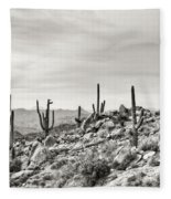 The High Desert  Fleece Blanket