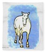 The Horse Fleece Blanket