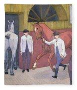 The Horse Mart  Fleece Blanket