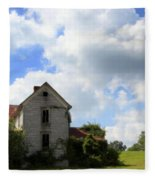 The House On The Hill Fleece Blanket