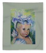 The Iris Princess Fleece Blanket