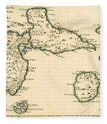 The Islands Of Guadeloupe Fleece Blanket