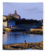 The James Joyce Tower, Sandycove, Co Fleece Blanket
