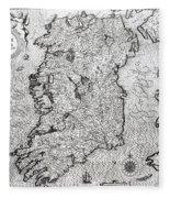 The Kingdom Of Ireland Fleece Blanket