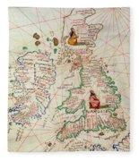 The Kingdoms Of England And Scotland Fleece Blanket