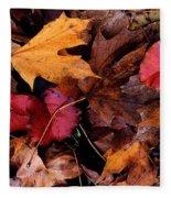The Leaves Fleece Blanket