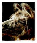 The Legendary Llama  Fleece Blanket