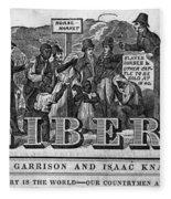 The Liberator Masthead Fleece Blanket